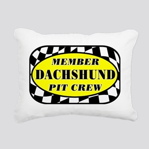 dachshundpitcrew Rectangular Canvas Pillow