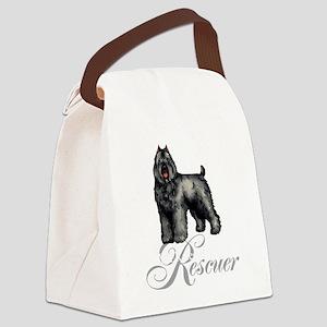 bouvier rescueT Canvas Lunch Bag