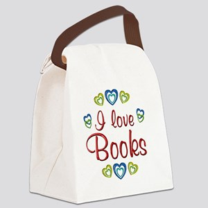 books Canvas Lunch Bag