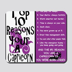 Capricorn6 Mousepad