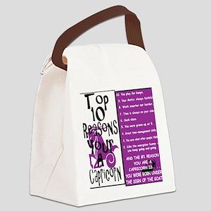 Capricorn6 Canvas Lunch Bag