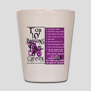 Capricorn6 Shot Glass
