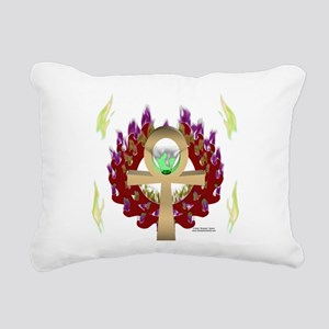 Forever Ankh Rectangular Canvas Pillow