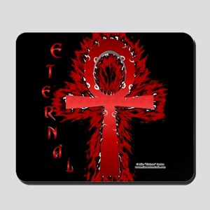 Fire Ankh Mouse Pad