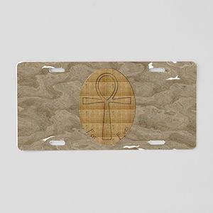 Ankh Amulet Aluminum License Plate