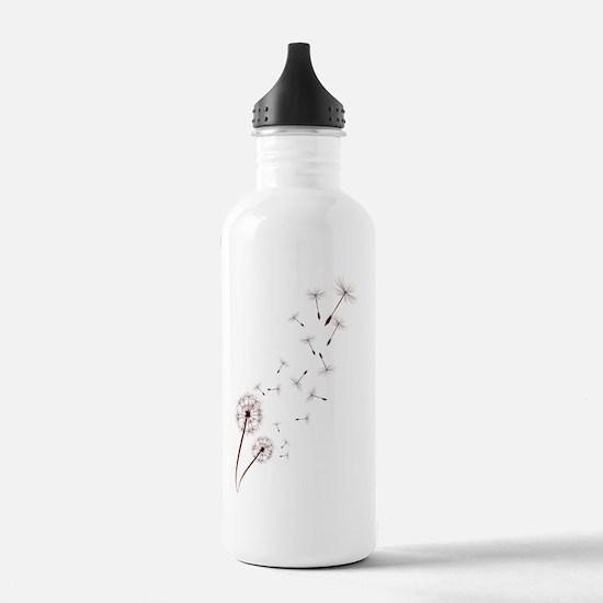 DesignDandelionTrans Water Bottle