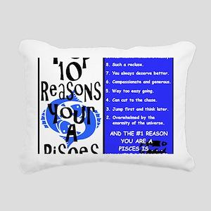Pisces6 Rectangular Canvas Pillow