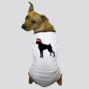 BoxerSanta Dog T-Shirt