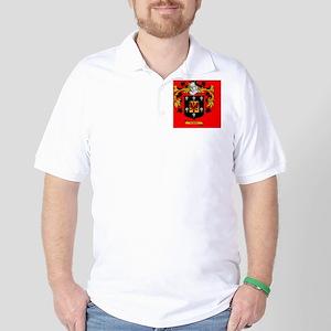 3 Lapel Sticker Golf Shirt