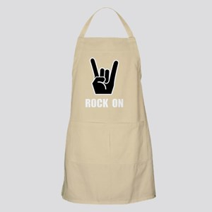 Rock On White Apron