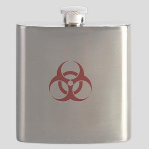 Zombie Response Team White Flask