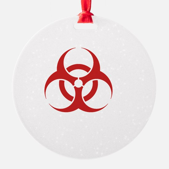 Zombie Response Team White Ornament
