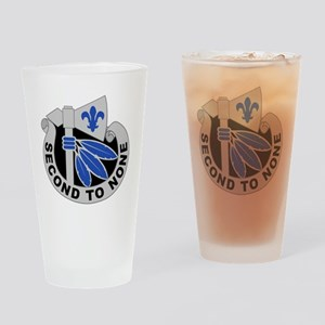 2nd Infantry Division - DUI Drinking Glass