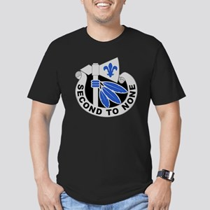 2nd Infantry Division  Men's Fitted T-Shirt (dark)