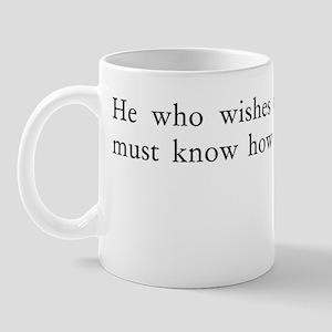 obeyed Mug
