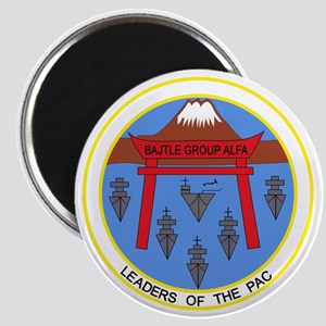 CV-41 USS MIDWAY BATTLE GROUP ALPHA Militar Magnet