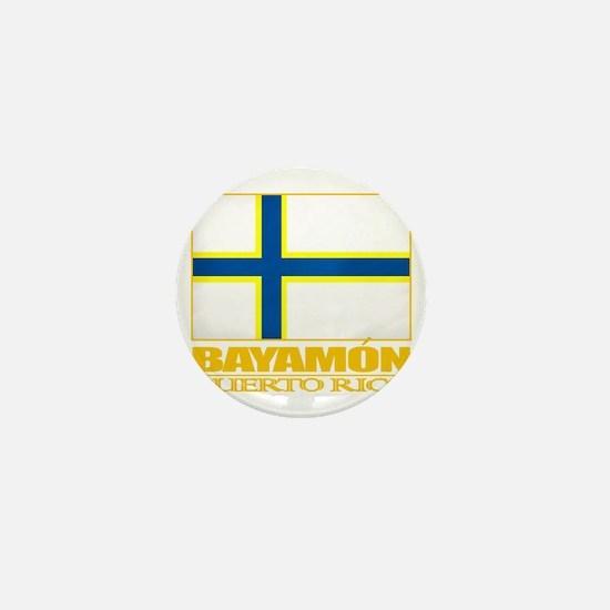 Bayamon Flag2 Mini Button