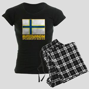 Bayamon Flag2 Women's Dark Pajamas