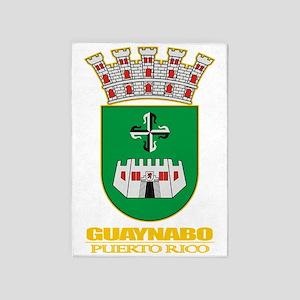 Guaynabo COA 5'x7'Area Rug