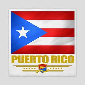 Puerto Rico (Flag 10) Queen Duvet