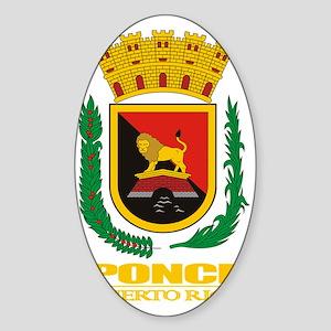Ponce COA Sticker (Oval)