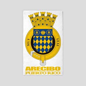 Arecibo COA 3'x5' Area Rug