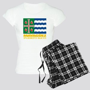 Mayaguez Flag Women's Light Pajamas