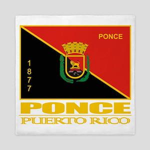 Ponce Flag Queen Duvet