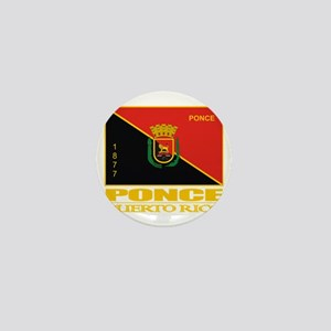 Ponce Flag Mini Button