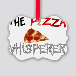 The pizza whisperer Picture Ornament