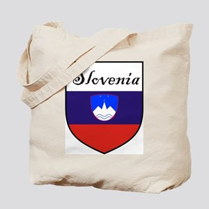 Slovenia Flag Crest Shield Tote Bag