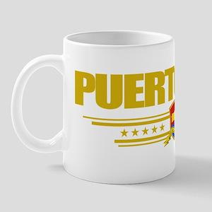 Puerto Rico (Flag 10) pocket Mug