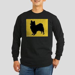 Papillon iPet Long Sleeve Dark T-Shirt