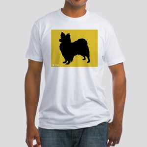 Papillon iPet Fitted T-Shirt