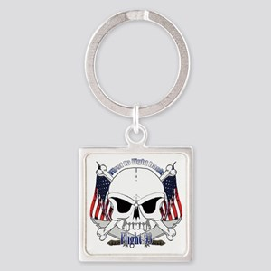 fight 93 Square Keychain