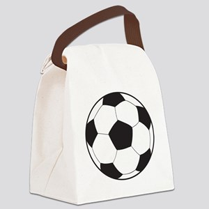 soccerball8 Canvas Lunch Bag