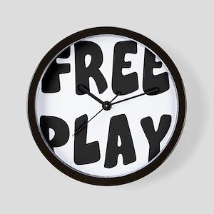 freeplay Wall Clock