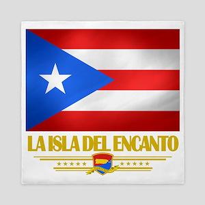 Puerto Rico (La Isla Del Ecanto) Queen Duvet