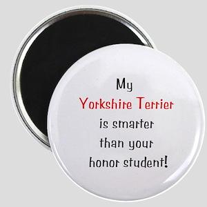 My Yorkshire Terrier is smarter... Magnet