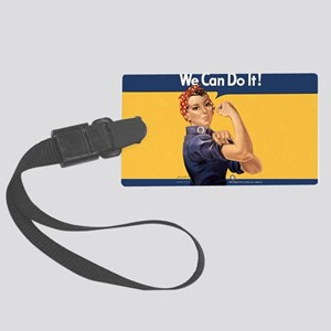 we-can-do-it-rosie_10-333x18h Large Luggage Tag