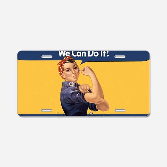 we-can-do-it-rosie_10-333x1 Aluminum License Plate