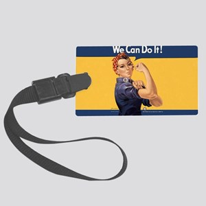 we-can-do-it-rosie_10-833x18h Large Luggage Tag