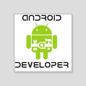 """android-developer Square Sticker 3"""" x 3"""""""