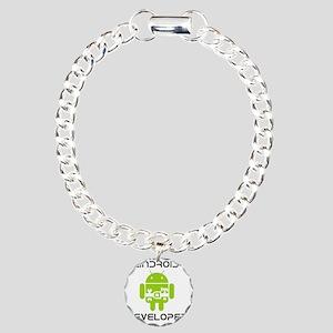 android-developer Charm Bracelet, One Charm