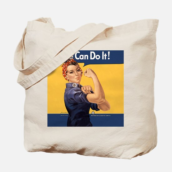 we-can-do-it-rosie_12-5x13-5h Tote Bag