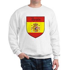 Spain Flag Crest Shield Sweatshirt