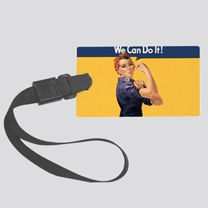 we-can-do-it-rosie_10x18h2 Large Luggage Tag