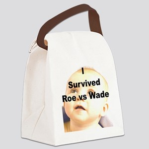 I SURVIVED ROE VS WADE Canvas Lunch Bag