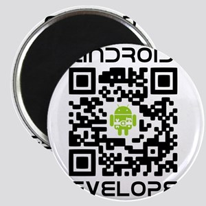android-qr-3inch-300dpi Magnet