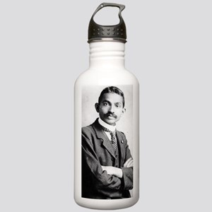 Gandhi_young poster Stainless Water Bottle 1.0L